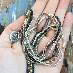 TRIFARI Triple Knotted Chain Necklace